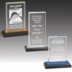 Beveled Upright Acrylic Award
