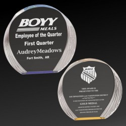 Stepped Bevel Acrylic Award