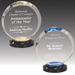 Halo Style Acrylic Award