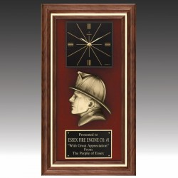 Firefighters Award Clock