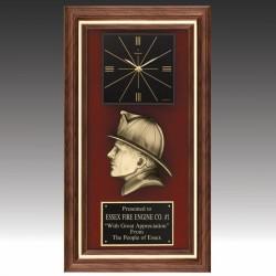 Firefighters Award Clock
