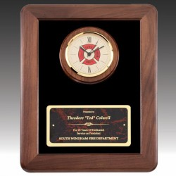 Firemens Cross Clock Award
