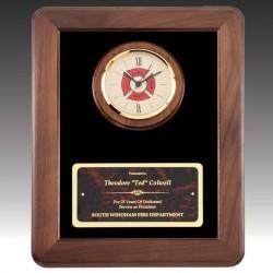 Firemens Cross Clock Award