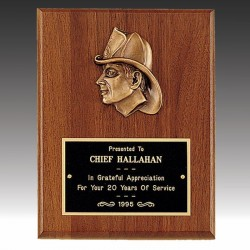 Firefighters Award Plaque