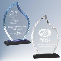 Diamond Flame Glass Award