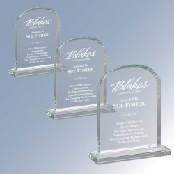 Radiant Dome Glass Award