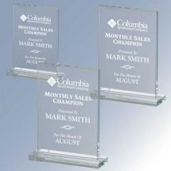 Radiant Rectangle Glass Award