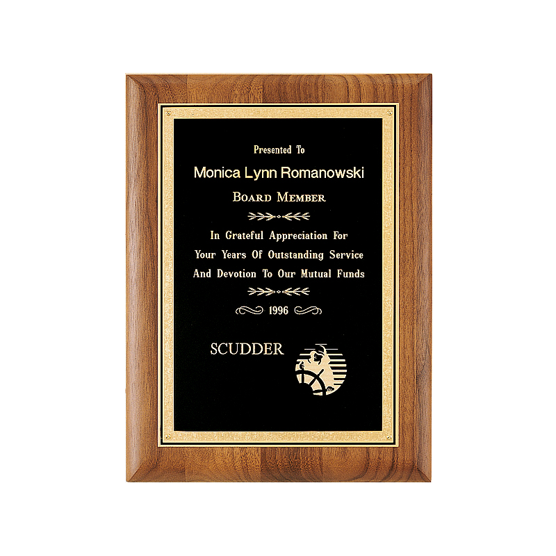 Conventry Angle Series Plaque