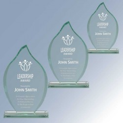 Flame Design Jade Glass Award