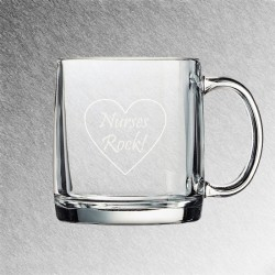 Nordic Glass Coffee Mug