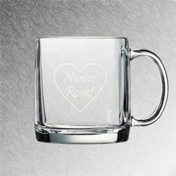 Nordic Glass Coffee Mug