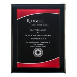 Black Piano Finish Plaque,...