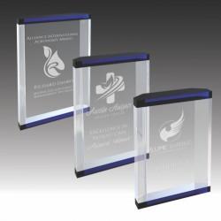Capri Accented Acrylic Award
