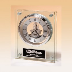 Double Pane Award Clock