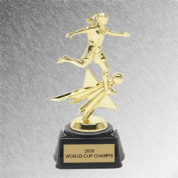 Star Girls Soccer Trophy