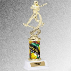 In-Motion Softball Trophy