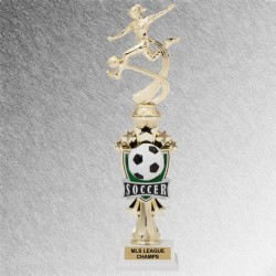 All Star Girls Soccer Trophy