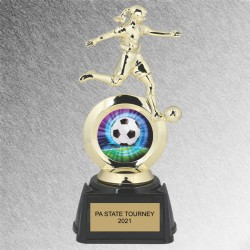 Halo Girls Soccer Trophy