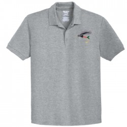 Collared Short Sleeve Grey Golf Shirts