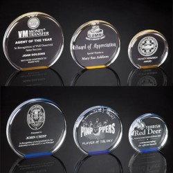 Smooth Round Acrylic Award