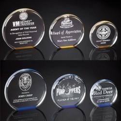 Smooth Round Acrylic Award